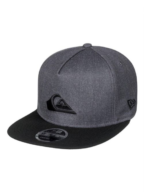 924db5e3a4c QUIKSILVER NEW ERA 9FIFTY MENS BASEBALL CAP.STUCKLES GREY SNAPBACK HAT 8W  89 KTA .
